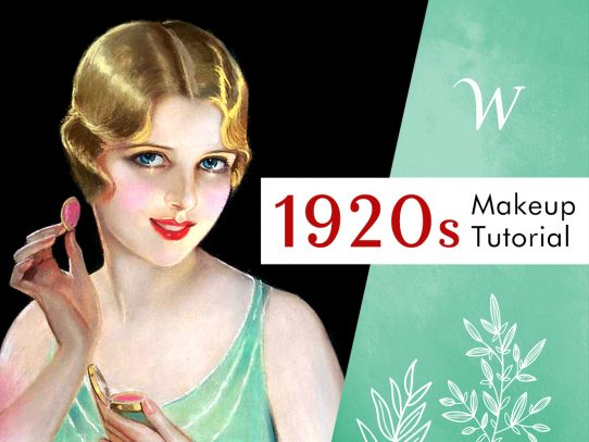 An Authentic 1920s Makeup Tutorial