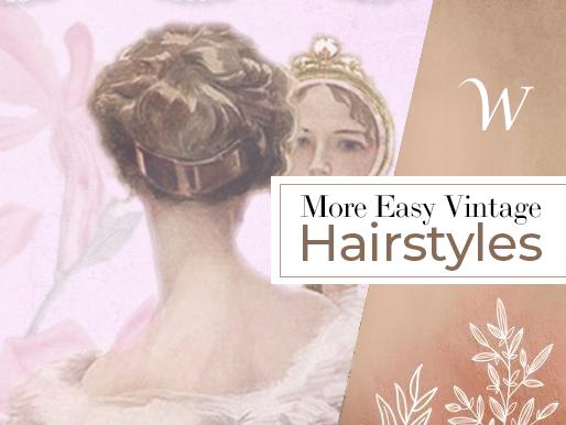 More Easy Vintage Hairstyles